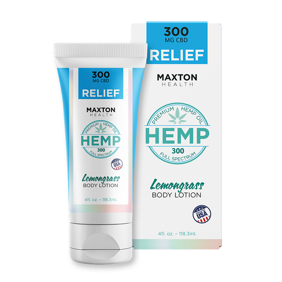 CBD Oil Hemp Lotion Lemongrass