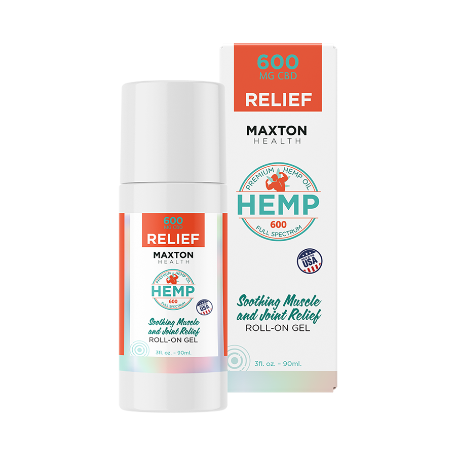 Full Spectrum CBD Soothing Muscle Roll On Gel 90ml